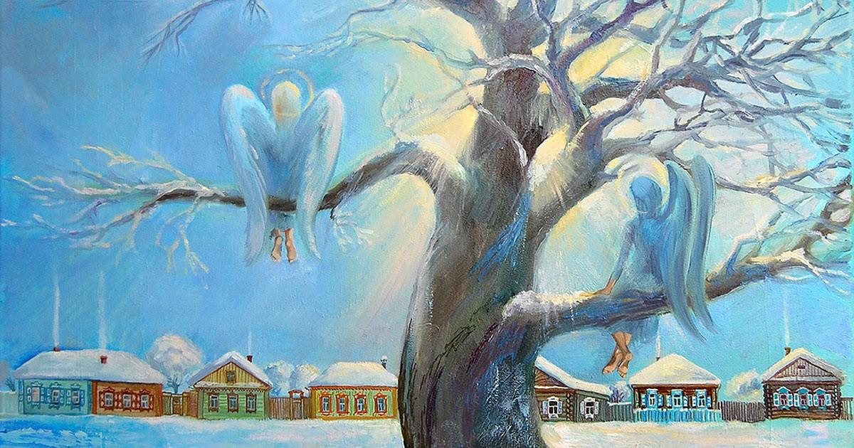 Сказка Снежный ангел (Россия, Мария Викторовна Кармишина ). Аудио. FB2.