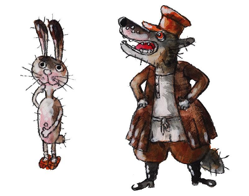 Читать и слушать Как заяц и волк хвостами поменялись (Русские сказки, Елена Рабкина). Скачать FB2 бесплатно