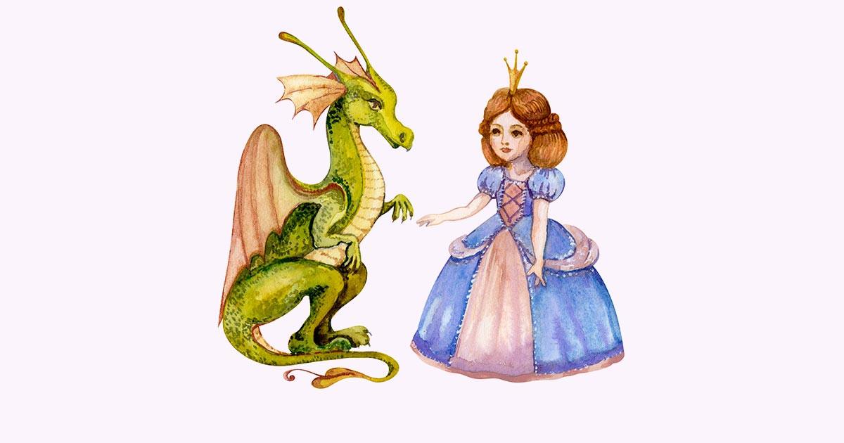 Сказка Принцесса и Дракон (Россия, Слюнченко Анна Андреевна). Слушайте Аудио. Скачиваете FB2.
