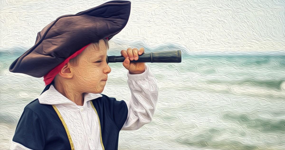 Cказка Сокровища капитана (Украина, Д. Пирожков). Аудио. FB2.